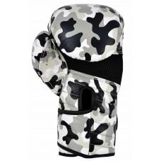 """Перчатки боксерские """"ECOS Kids Military""""-8, 8 унций, Кожа, Камуфляж"""
