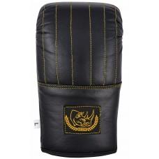 """Перчатки снарядные """"ECOS Punch Black-Gold"""" L-XL, кожа, черный"""