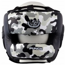 "Шлем боксерский ""ECOS Punch military bumper""-M-L-XL"