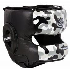 "Шлем боксерский ""ECOS Punch military bumper""-M-L-XL"