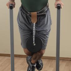 Аксессуар на ремень для подвешивания отягощений к поясу кожаный