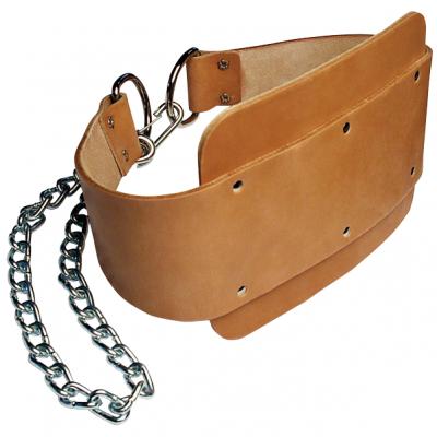 Ремень для подвешивания отягощений к поясу кожаный
