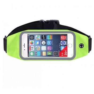 Пояс-сумка для телефона CWILKES  XCW-007, 5,5 дюйма, зеленая