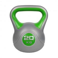 Гиря пластиковая ZS-20, 20 кг