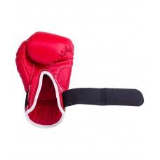 Перчатки боксерские Reyvel RV-101, 12 oz, к/з, красный