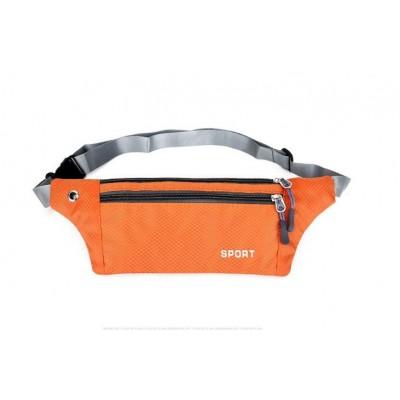 Сумка на пояс для телефона SPORT, оранжевая