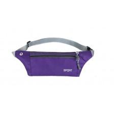 Сумка на пояс для телефона SPORT, фиолетовая