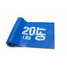 Эспандер лента латексная 1830х150х0.6 мм, синяя 10 кг