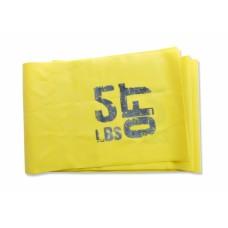 Эспандер лента латексная 1830х150х0.3, желтая 2,5 кг