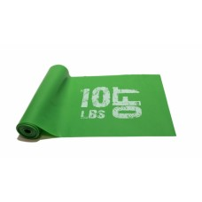 Эспандер лента латексная 1830х150х0.4 мм, зеленая 5 кг