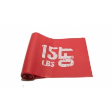 Эспандер лента латексная 1830х150х0.5 мм, красная 7,5 кг