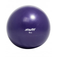 Медбол STARFIT GB-703, 6 кг, фиолетовый