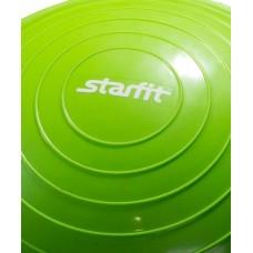 """Полусфера """"BOSU"""" STARFIT GB-501 с эспандерами, с насосом, зеленый"""