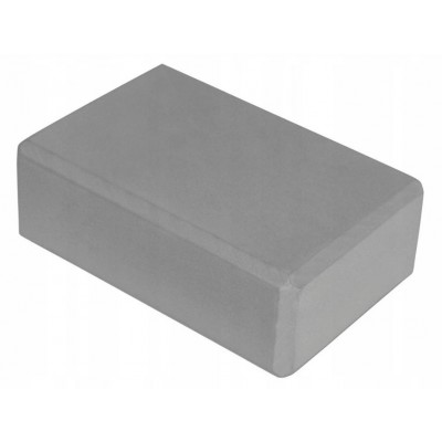 Блок для йоги KN120 серый