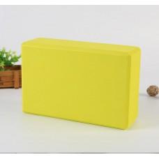 Блок для йоги KN135 салатовый