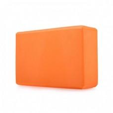 Блок для йоги KN135 оранжевый