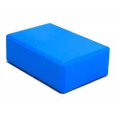 Блок для йоги KN120 синий