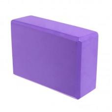Блок для йоги KN135 фиолетовый