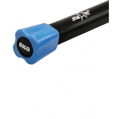 Бодибар неопреновый STARFIT BB-301 6 кг, синий
