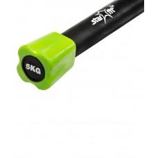 Бодибар неопреновый STARFIT BB-301 5 кг, зеленый