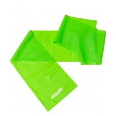 Эспандер ленточный для йоги STARFIT ES-201 1200*150*0,35 мм, зеленый