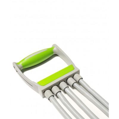 Эспандер плечевой STARFIT ES-102 5 струн, резиновый, зеленый