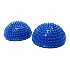 Полусфера массажно-балансировочная (набор 2 шт) синий