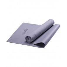 Коврик для йоги STARFIT FM-101 PVC 173x61x0,5 см, серый