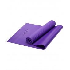 Коврик для йоги STARFIT FM-101 PVC 173x61x0,6 см, фиолетовый