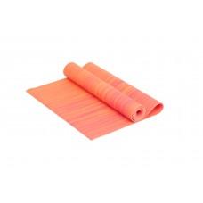Коврик для йоги 4 мм оранжевый
