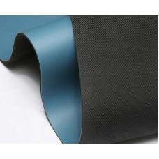 Коврик для йоги из каучука с разметкой 183х68х0,5 см, Фиолетовая бабочка