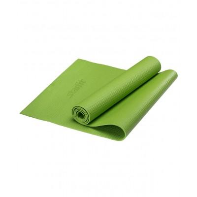 Коврик для йоги STARFIT FM-101 PVC 173x61x0,4 см, зеленый