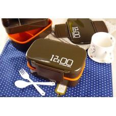 Ланч бокс 12 o clock (коричневый)