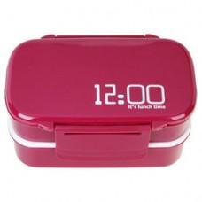Ланч бокс 12 o clock (красный)