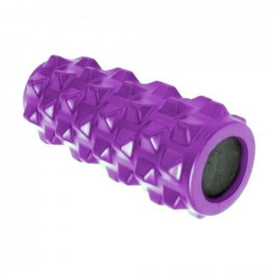 Ролик массажный со вспененной втулкой BIG 32 фиолетовый