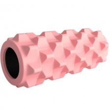 Ролик массажный Aimeishi KN1029 32х13 см, розовый