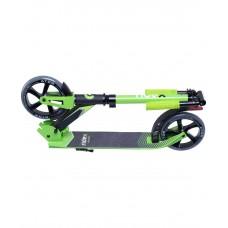 Самокат 2-колесный Atom 180 мм, зеленый