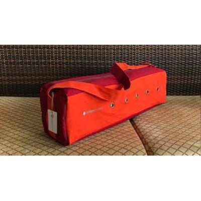 Сумка для йоги Iyogasports оранжевый-красный