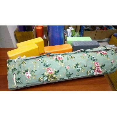 Сумка для коврика для йоги Iyogasports 71*18 см Пион зеленый