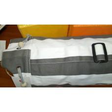 Сумка для коврика для йоги Iyogasports 71*18 см Белая серая полоска
