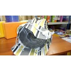 Сумка для коврика для йоги Iyogasports 71*18 см Белая бежевая полоска