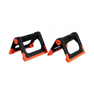 Упоры для отжиманий BA-304, cкладные, черный/оранжевый
