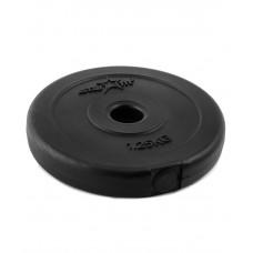 Диск пластиковый STARFIT BB-203  1,25 кг, d=26 мм, черный