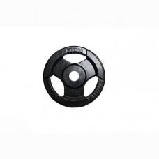 Диск H-310 обрезиненный черный с ручками d-31 mm 2,5 кг
