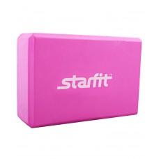 Блок для йоги STARFIT FA-101 EVA, розовый