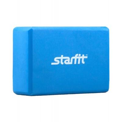 Блок для йоги STARFIT FA-101 EVA, синий