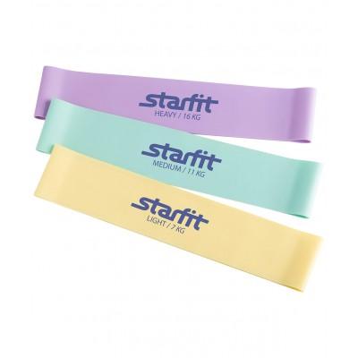 Комплект мини-эспандеров STARFIT ES-203 пастельный