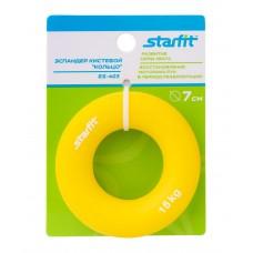 """Эспандер кистевой ES-403 """"Кольцо"""", диаметр 7 см, 15 кг, жёлтый"""
