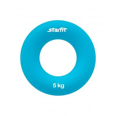 "Эспандер кистевой ES-403 ""Кольцо"", диаметр 7 см, 5 кг, голубой"
