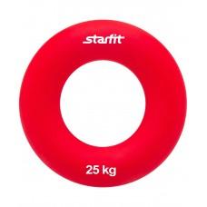 """Эспандер кистевой ES-404 """"Кольцо"""", диаметр 8,8 см,  25 кг, красный"""